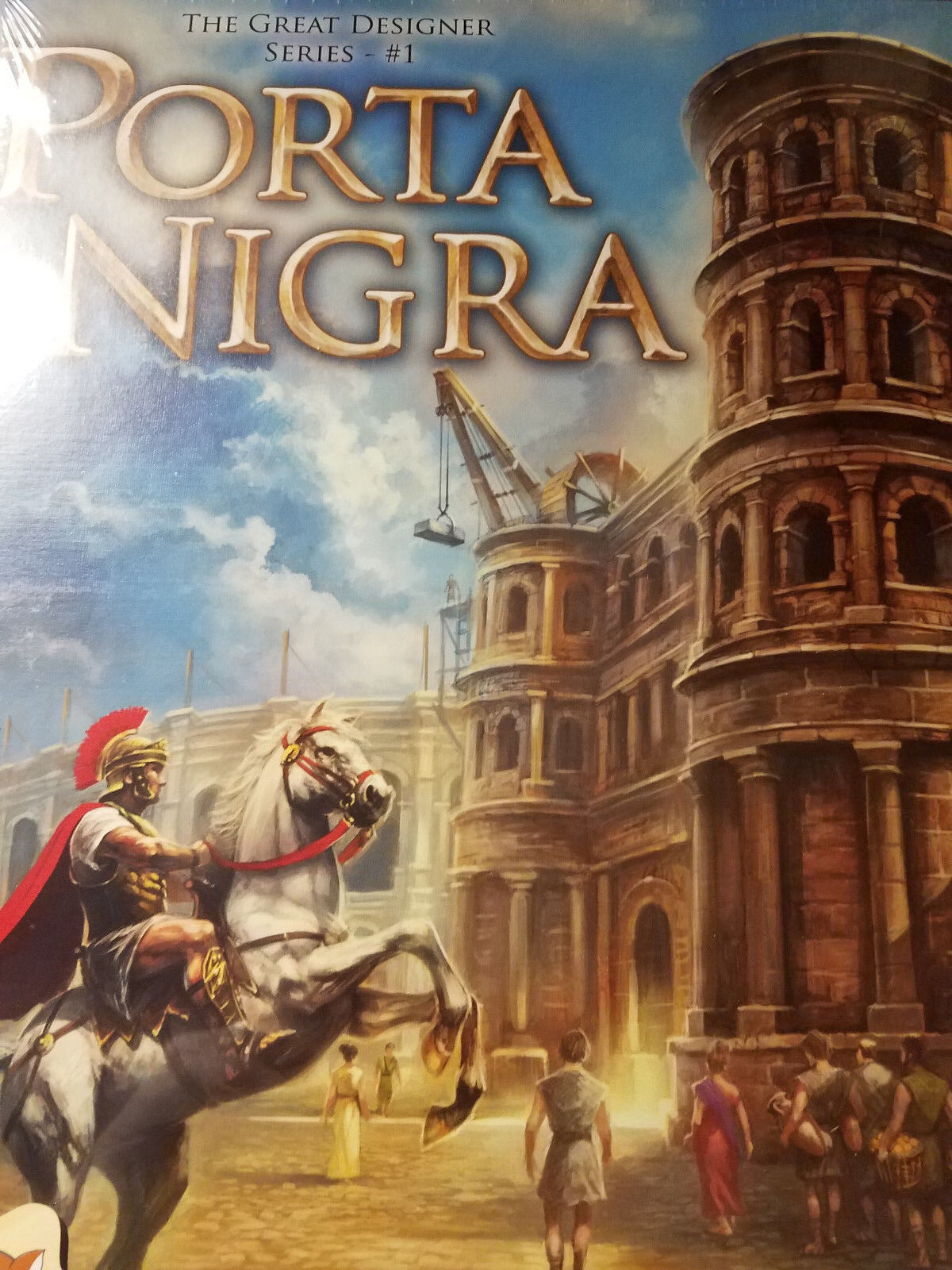 Porta Nigra - Stronghold Games Board Game New  Great Game Designers Series