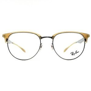 51ae457918 New Ray Ban Optical Eyeglasses RX Frame RB 6396 2935 Beige Gunmetal ...