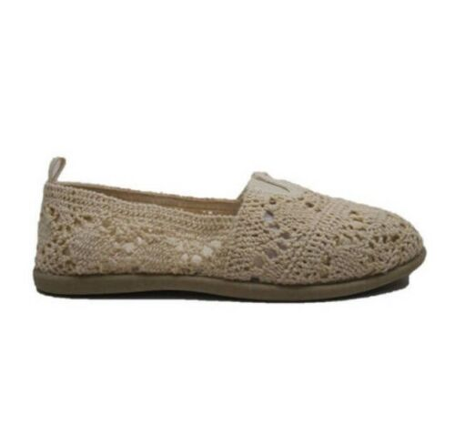 NEW Women's Faded Glory  Casual Crochet Slip On Shoes Size 6