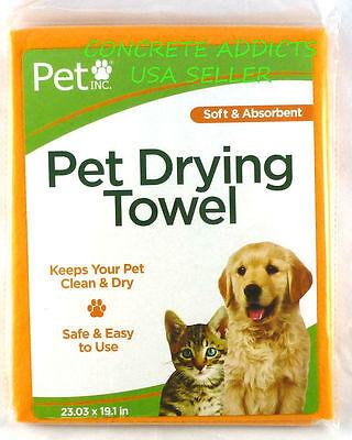 Amabile Pet Inc Animale Domestico Asciugatura Asciugamano Microfibra 23.03 In X 19.1 Per A Tutti I Costi
