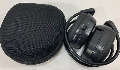AUTO WIRELESS ENTERTAINMENT HEADPHONES 90-3040 OEM EXCELLENT WITH CASE