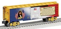 Lionel Ulysses S Grant Boxcar 6-82334 Made In Usa Presidential Boxcar