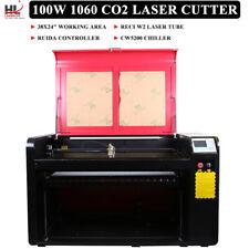 Hl1060 100w Co2 Laser Cutting Machine Laser Cutter Engraver Auto Focus Us Stock