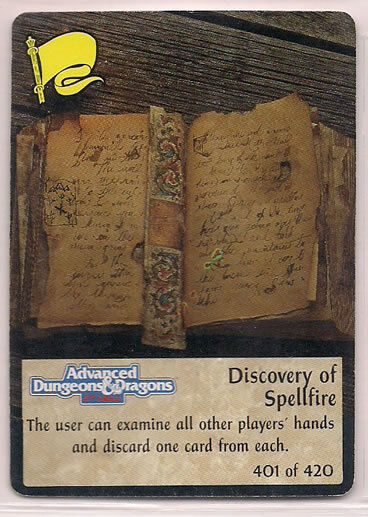 Spellfire 1994 2nd Edition UR Chase 401 420 Discovery of Spellfire EX