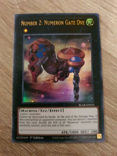 Number 2 Numeron Gate Dve BLAR-EN023