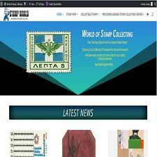 Stamps Collecting Shop Wordpress Website