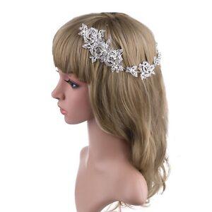 Details Sur Elegant Mariee Mariage Cheveux Peigne Fleur De Cristal Pince A Cheveux Demoiselle D Honneur Bandeau Afficher Le Titre D Origine