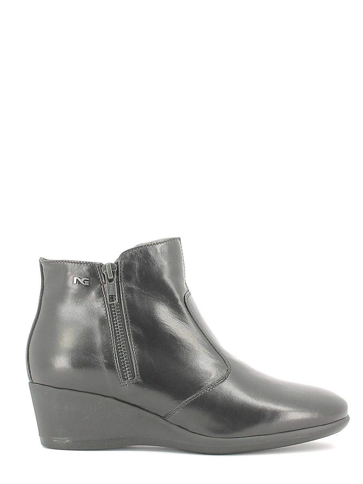 Zapatos promocionales para hombres y mujeres Stivaletto donna NeroGiardini nuova collezione 2016-2017 A616872D linea confort