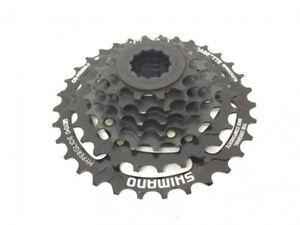 Shimano-CS-HG200-Bicicleta-Casete-de-Pinones-Negro-7-Velocidades-12-28-12-32