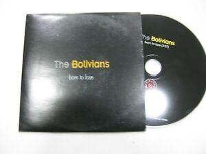 The Bolivianer CD Single Spanisch Born To Lose 1998 Promo