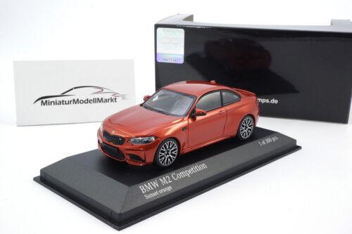 2019-1:43 Sunset Orange #410026204 Minichamps BMW M2 Competition