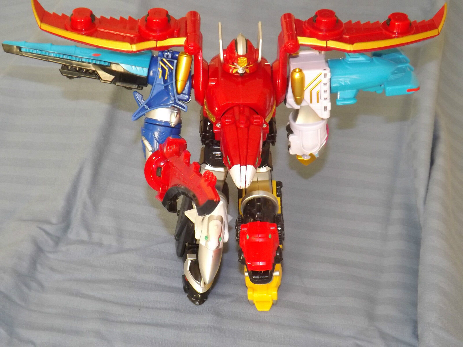 LARGE MEGAFORCE POWER RANGERS RANGER MEGAZORD FREE UK POSTAGE MEGA FORCE