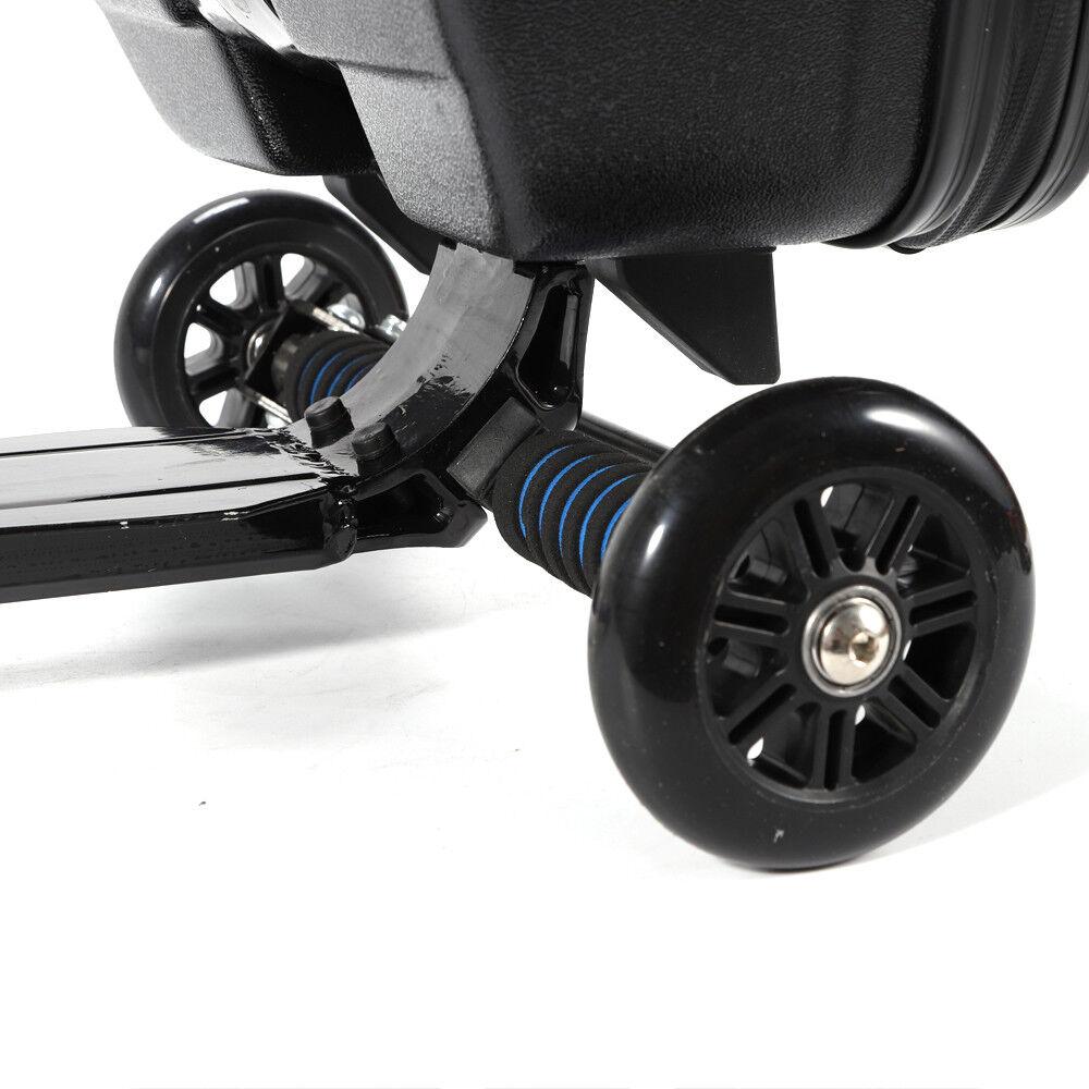 20'' Koffer Koffer Koffer Trolley Scooter Roller Reisekoffer Handgepäck Zwei farben DE b45c20