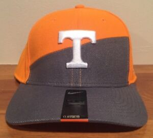 online store a4cd0 b654a Image is loading Nike-Tennessee-Volunteers-Hat-Cap-Fitted-DriFit-Verbiage-