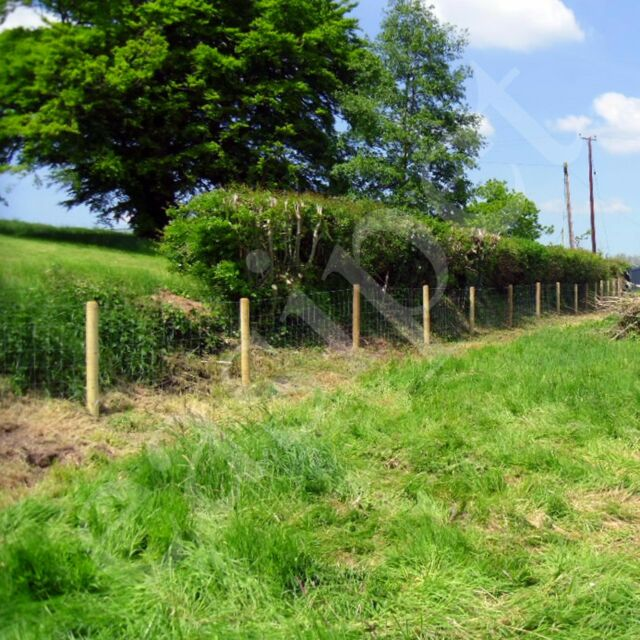50M Stock Fencing Sheep Livestock Pig Fence Galvanised Wire M8//85//15 M8//100//15