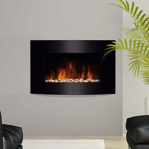 Estufa-Chimenea-Electrica-Calefaccion-65x11-4x52cm-Llama-LED-7-Colores-NUEVO