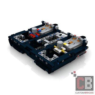 Bauanleitung instruction Gabelstapler Stapler Eigenbau Unikat Moc Lego Technic