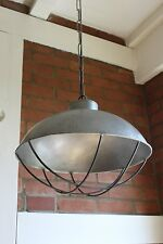 Hängelampe XXL Fabriklampe Hänge Lampe Ø 43cm Alte Industrielampe Loftlampe