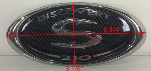Sportsman 210 3D Decal Emblem Console Boat Chrome Carbon Fiber