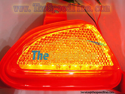15 16 17 Mazda2 Demio Rear LED Rear reflector bumper fog light Mazda 2 2015 2016