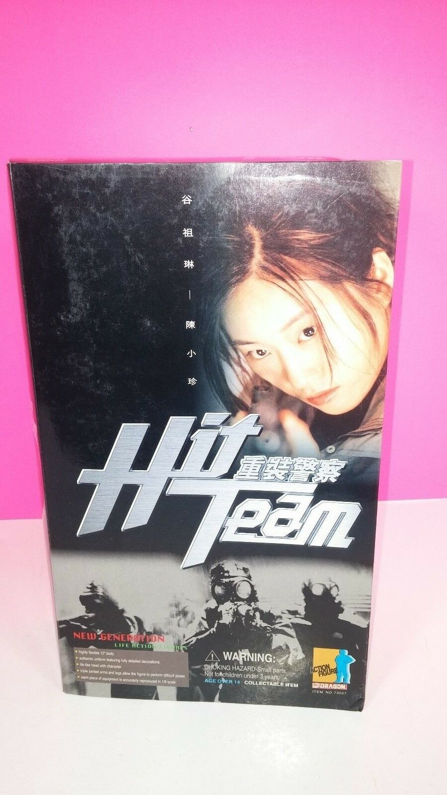 Dragon Hit Team Movie Jane Chan (Jo) 1 6 Scale Action Figure New