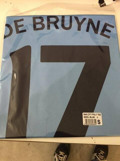 MAGLIA+CALZONI calcio Ufficiale DE BRUYNE N 17 MANCHESTER CITY KEVIN 2019-2020