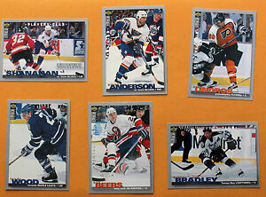 1995-96-UD-Collector-039-s-Choice-Players-Club-Hockey-Cards-Price-is-PER-card