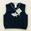 thumbnail 1 - Janie and Jack Baby Boy 12 18 Months Sweater Vest Blue Shark