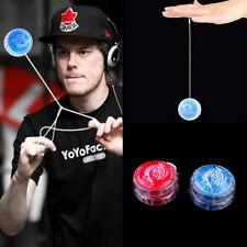 LED Glow Light Up YOYO Party Colorful Yo-Yo Toys For Kids Boy Toys Gift XP