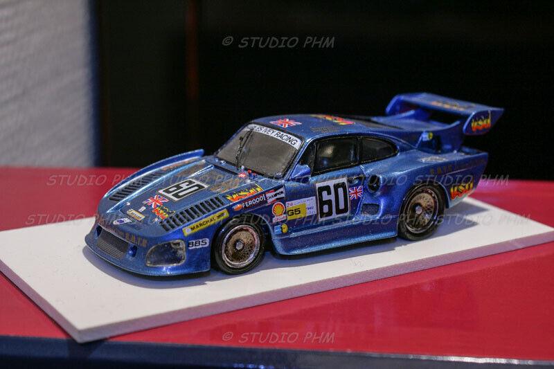 Porsche 935  k3   60 charles ivey racing 8 ° 24h du hommes 1982 1 43 record no spark  magasin en ligne de sortie