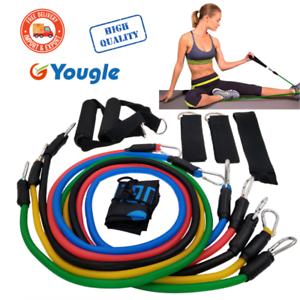 Bandas-De-Resistencia-Ejercicio-11-un-Set-Kit-Yoga-Abs-Pilates-Tubo-Fitness-Ejercicios