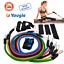 Resistance Bands Workout 11pcs Set Kit Yoga Abs Pilates Tube Fitness Exercises
