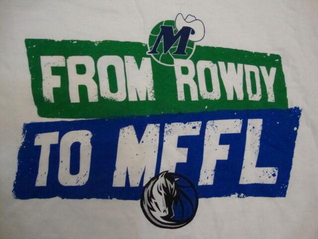 NBA Dallas Mavericks Basketball Fan From Rowdy To MFFL ...