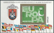 Ungarn - KSZE Konferenz Block 126 postfrisch 1977 Mi. 3221