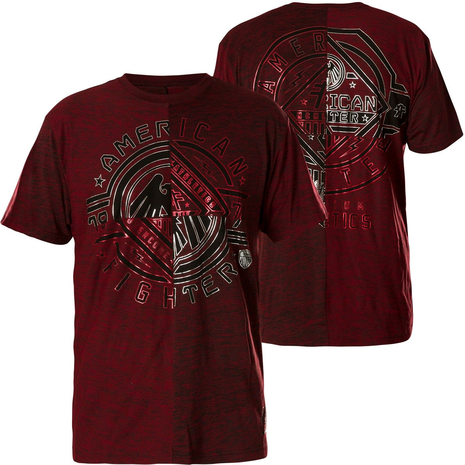 AMERICAN FIGHTER Affliction T-Shirt Centerville red T-Shirts