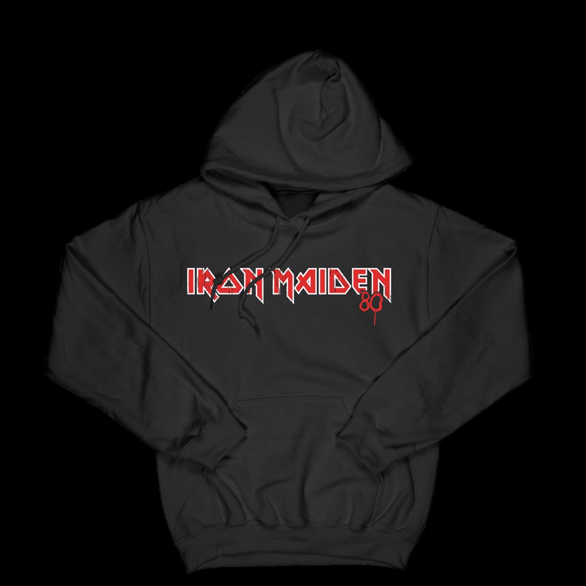 Iron Maiden 40th Anniversary Album Hoodie Sweatshirt - Black