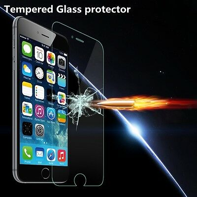 """For IPhone 8 Plus 5.5"""" .40mm Tempered Shatterproof Glass Screen Cover Protector"""