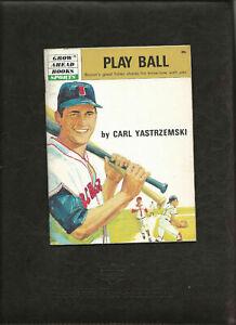 Play Ball Carl Yastrzemski Boston Red Sox Grow Ahead Books