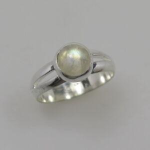 schoener-Mondstein-Ring-Rund-Cabochon-925-Silber-Gr-57