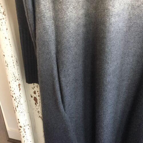 200 Cardigan Rrp Dkny Cascade S p Bnwot largo £ Pure Grey Ombre qPBtzz