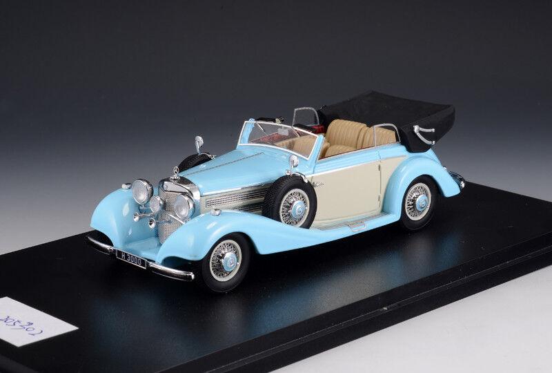 prodotti creativi Mercedes-Benz 540K Cabriolet B  Light blu blu blu Cream  (GLM modellos 1 43   205302)  in cerca di agente di vendita