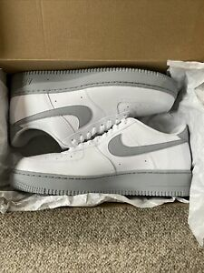 Details about Nike Air Force 1 '07 'White Grey Sole' Men's Size 12.5