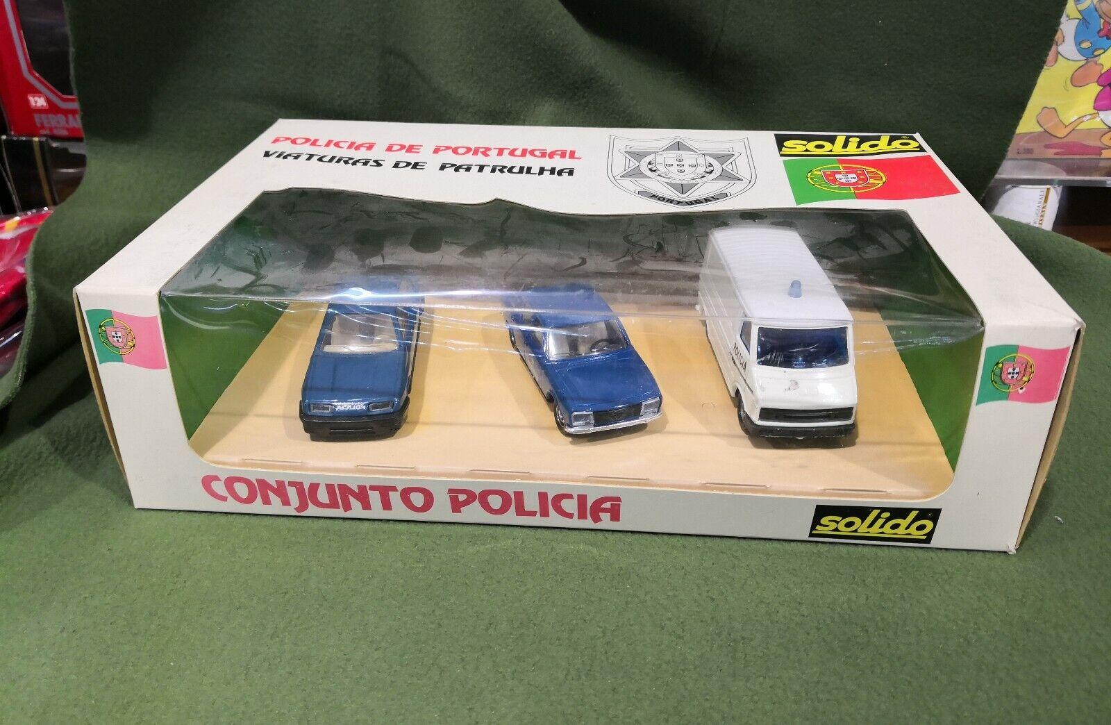 Solido 1001 coffret Policia    Conjunto Policia scala 1 43 c88b6e