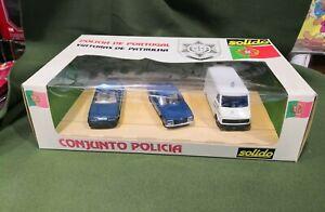 Solid 1001 Coffret Policia Conjunto Échelle 1/43