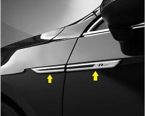 Side-Fender-R-line-Emblem-trim-badge-chrome-For-Volkswagen-Passat-B8-2015-2019