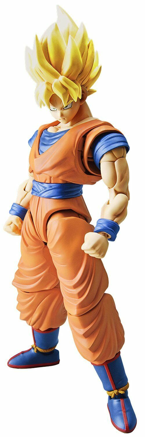 New Figure rise Standard Dragon Ball Super Saiyan Goku Plastic model kit F S