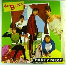 """12"""" LP - The B-52's - Party Mix - M789 - washed & cleaned"""