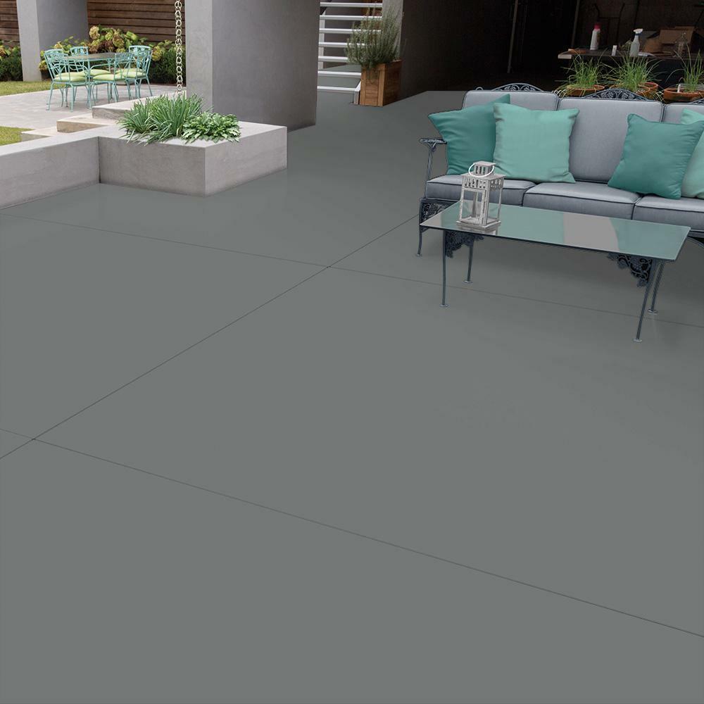 1 Gal Can Slate Gray Epoxy Concrete