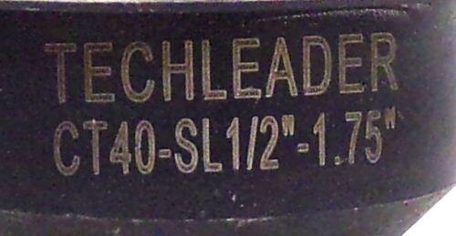 """TECHLEADER TOOLHOLDER CT40-SL1//2/""""-1.75/"""""""