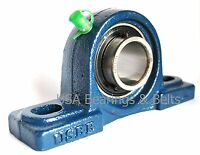 (qty 2) 3/4 Pillow Block Bearings Ucp204-12 Bearing With Solid Foot P 204